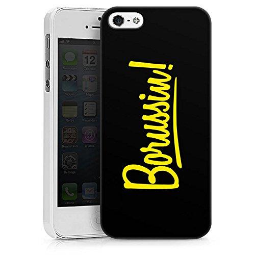 Apple iPhone 7 Silikon Hülle Case Schutzhülle Borussia Dortmund Borussin Fanartikel Hard Case weiß