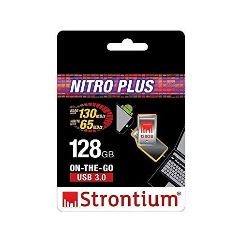 Strontium Nitro Plus USB 3.0 128GB Pen Drive (Black)