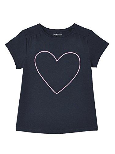 Vertbaudet Girls' Pack of 3 Short-Sleeved T-Shirts