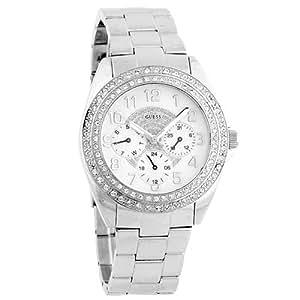 Guess - G11040L - Montre Femme - Quartz - Analogique - Bracelet Argent