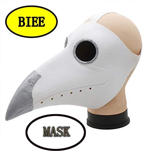 BIEE Seuchenarzt Vogel Masken Lange Nase Schnabel Cosplay -