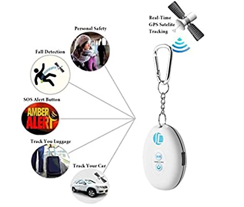 WYXlink Persönlicher GPS-Verfolger Real Time Tracking Device By Satellite GSM GPRS SOS Alarm (EU)