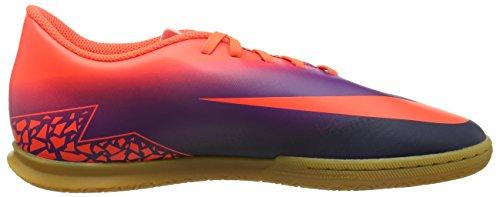 Nike 749890-845, Chaussures de Football en Salle Homme Multicolore (Total Crimson/obsidian-vivid Purple)