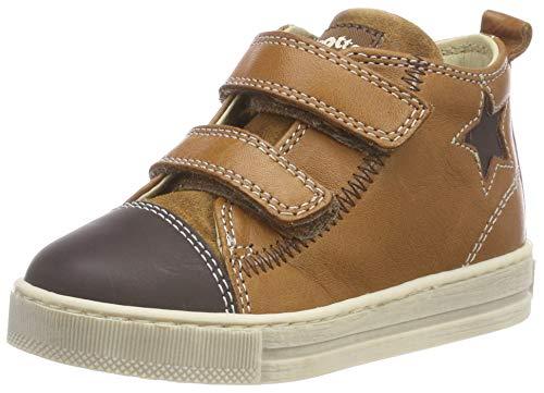 falcotto lauflernschuhe Falcotto Baby Jungen HAL VL Sneaker, Braun (T.Moro-Cognac 1d18), 23 EU