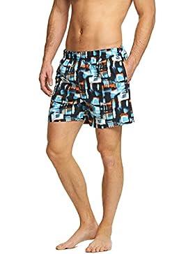 Zoggs Misty Tide, traje de baño para hombres, hombre, Misty, multicolor, XXL