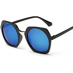 Aierwish Herren und Damen Neue Persönlichkeit Große Schachtel Sonnenbrille Mit Brillenbox (6)
