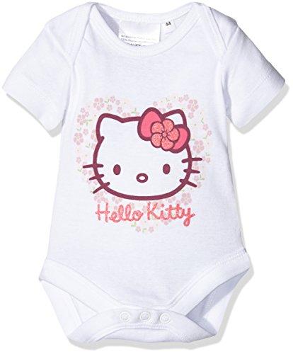 Twins Hello Kitty 1 011 46-Body Bebé-Niñas Weiß (Weiss 4013) 12 Meses