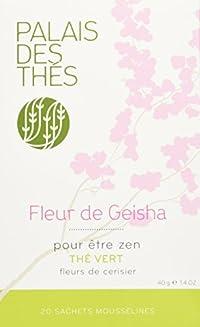 Palais des Thés, Signature Tea Blends Collection, Fleur de Geisha (Green, Cherry Blossom)