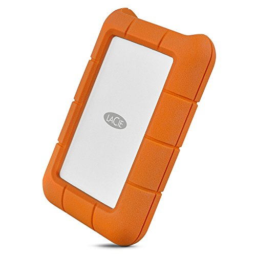 LaCie Rugged Mini - Disco duro portátil, 4TB (STFR4000400, USB-C   USB 3.0)