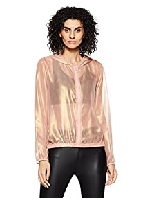 f3dd1017003 Forever 21 Women s Synthetic Jacket (00092713043 0009271304 ROSE GOLD 3 )