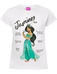 84e62992bc Disney Aladdin - Maglietta ufficiale con Jasmine - Bambina