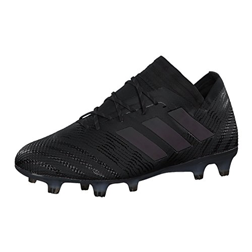 reputable site df7da 83914 adidas Bota Nemeziz 17.1 FG Core Black-Hi-Res Green Talla 11,5