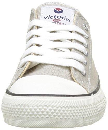Victoria - Zapato Basket Autoclave, Basse Unisex – Adulto Grigio