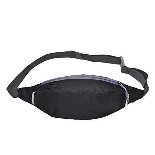Outdoor Sports Fitness Bag Bag Mehrfarbig Black