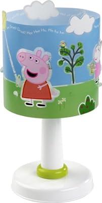 Dalber 62351 Peppa Tischlampe Wutz Pig Schwein Lampe von DALBER bei Lampenhans.de