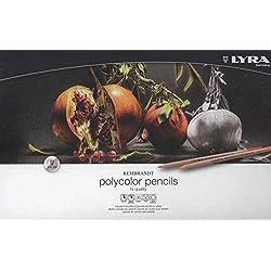 LYRA Rembrandt Polycolor Lápices, 36 Unidades, Color Estuche metálico (2001360)
