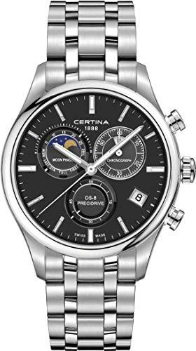 Certina C033.450.11.051.00DS-8Chronographe pour homme Phases lunaires