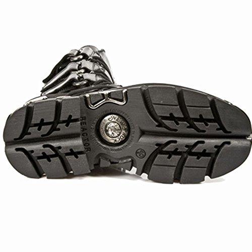 NEW ROCK LEDER BOOTS Black