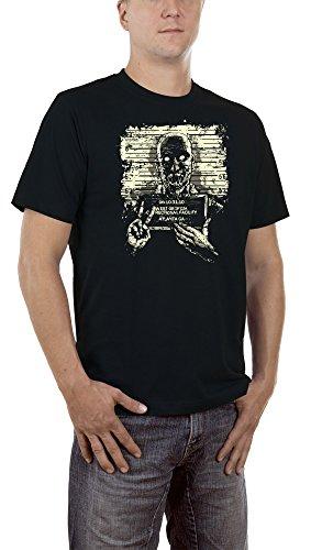 Touchlines Herren T-Shirt Zombie Atlanta Schwarz (Black 13), Large