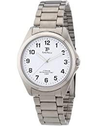 Time Piece Herren-Armbanduhr XL Titan Analog Quarz TPGT-50223-12M