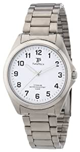 Time Piece Herren-Armbanduhr XL Titan Analog Quarz TPGT-50223-12M