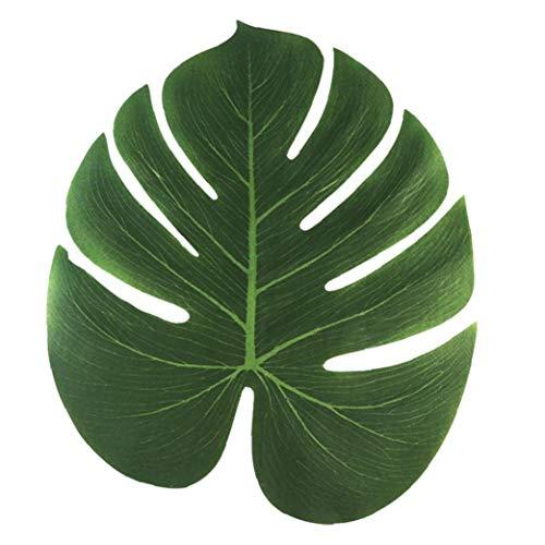 ial Palmblätter Tischläufer Aufkleber für Wedding Hawaiian Luau Theme Party Supplies ()
