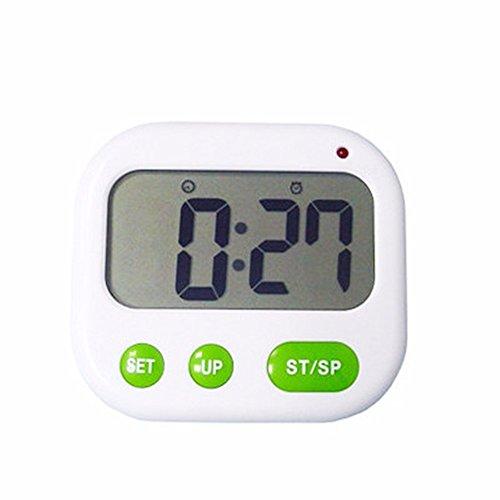 Shock Vibration Wecker Countdown-Uhr kreativ mute leuchtende elektronische Uhr