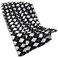 XDFCV Textiles,warmes Innenzubehör Baumwolle Kleine Decke Sofa Freizeit Gitter Decke Decke Decke Abdeckung Bein