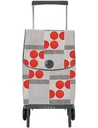 Rolser Einkaufsroller Plegamatic/logos - Maleta, color rojo / blanco, talla 42.5 x 28 x 97.5 cm