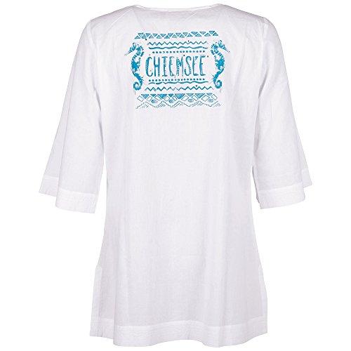 Chiemsee Damen Hemd Bluse Tunika Iva White