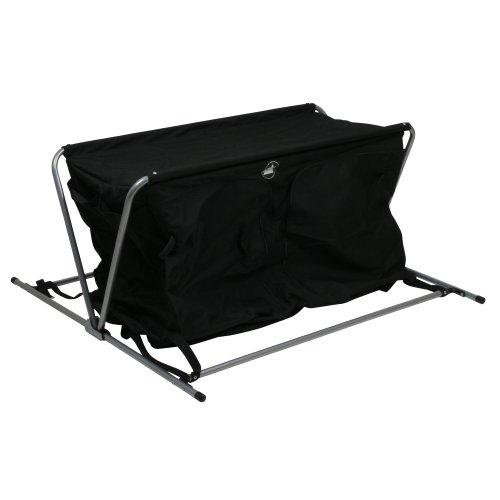 41OdXJaQ95L. SS500  - 10T Flapbox - Camping cupboard, 6 draws + top storage box, foldable steel frame, 53x110x90 cm
