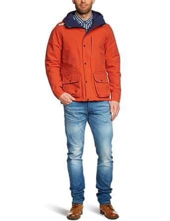 SELECTED HOMME Herren Jacke 16029561 Brighton Jacket, Gr. 48 (S), Mehrfarbig (Orange)