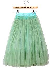 Wuiyepo femmes tulle robe princesse jupe de ballet (vert)