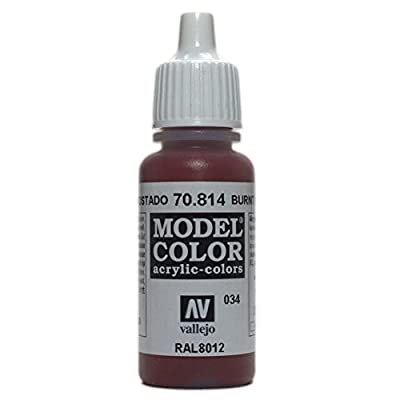 Vallejo P66 Mod?le Couleur Peinture Rouge br?l? Val814 70814