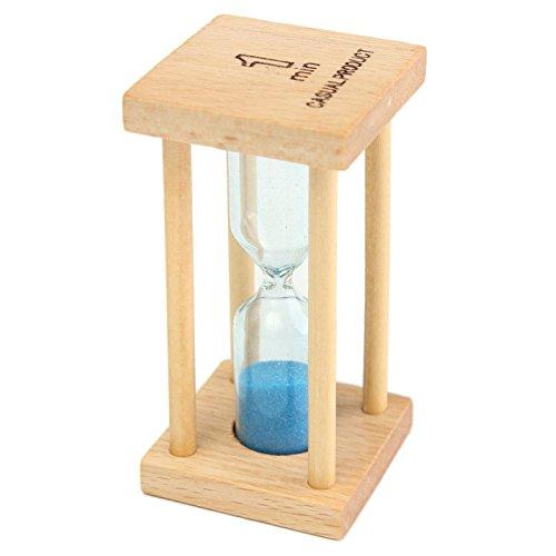Bluelover 1/3/5 Min Aus Holz Sand Sanduhr Sanduhr Timer Clock Dekor Einzigartige Geschenk Küche Sand Uhr-1