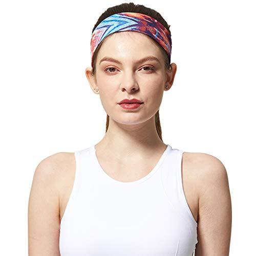 BEATMS Workout Stirnband, für Männer und Frauen Teens Fitness-Übung Radfahren Tennis - Rutschfeste Schweiß absorbierende Stirnband,B