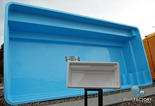 Gfk Schwimmbecken SMART POOL Swimming-Pool, Garten-Pool MINIATUR! GFK Pool Mini
