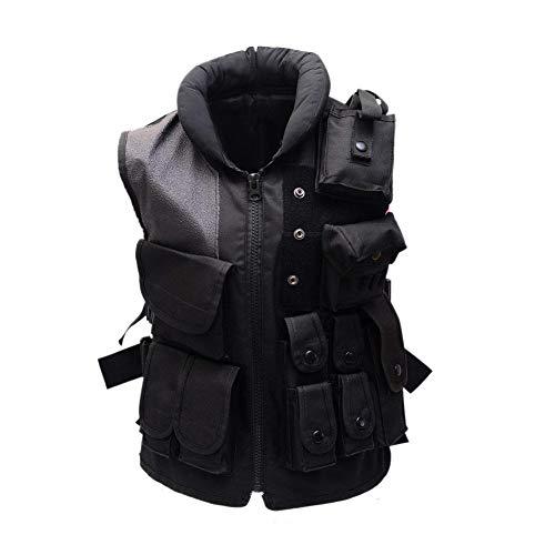 Tactical Weste Outdoor Camouflage Schutz Ausrüstung Tasche Reißverschluss Kampf Feld Schutzweste