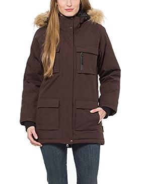 Berydale Parka para mujer con capucha, impermeable y resistente al viento