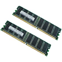 2x 1GB (2GB) DDR 400MHz PC de 3200184-pin DIMM 2048MB 2x 1024MB de Memoria Desktop