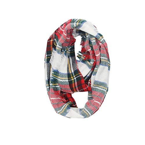 Ring Hals Schals, Quaan Winter Warm Plaid Wärmer Wickeln Halsband Schal