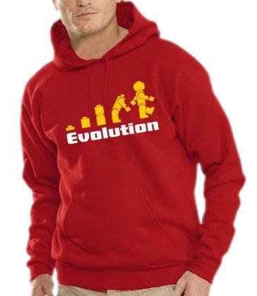 Touchlines Herren Evolution Kapuzen Sweatshirt B7077 red XL Preisvergleich