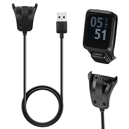 Sunhoyu USB Ladekabel Für TomTom 2 3 Runner Golfer GPS Uhr Clip Ladekabel Daten Sync