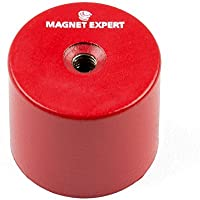 Imán expertos aldp3530m6–45de profundidad olla imán con orificio roscado M6(Pack de 4)