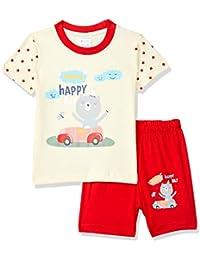 Easybuy Boy's T Shirt Shorts Regular Baby and Toddler Pajama Bottoms