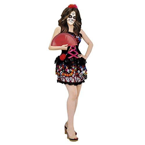 Disfraz Catrina Mejicana Día De La Muerte Mujer Adulto Para