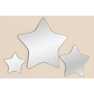 Wandspiegel 3er Set STARS