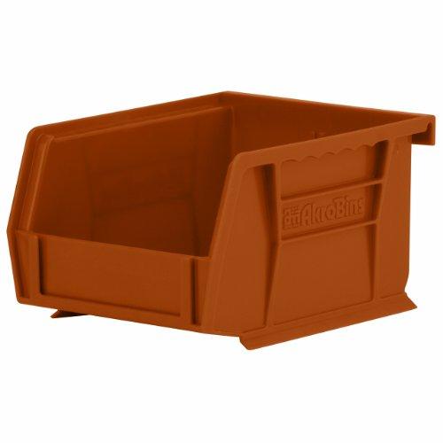 akro-mils 3021012,7cm von 4-Zoll von 3Zoll Kunststoff stapelbar zum Aufhängen Akro Bin, berry, 24er Pack, 30210RECYTC