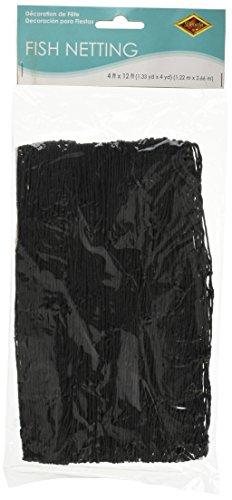 beistle-50301-bk-decorative-fish-netting-4-by-12-feet