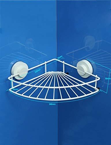 BAI Badezimmer-Handtuchhalter, Badezimmer-Dreiecksrahmen-Toiletten-Saugnapf-Winkel-Rahmen-Edelstahl-Toiletten-Regale An der Wand befestigte Badezimmer-Versorgungsmaterialien, die Qualität, Tuch-Zahns -